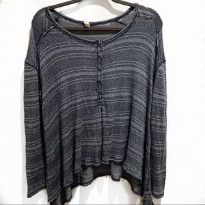 We The Free Waffle Knit Thermal Top